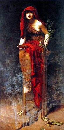 0002 Oracle of Delphi by John Collier
